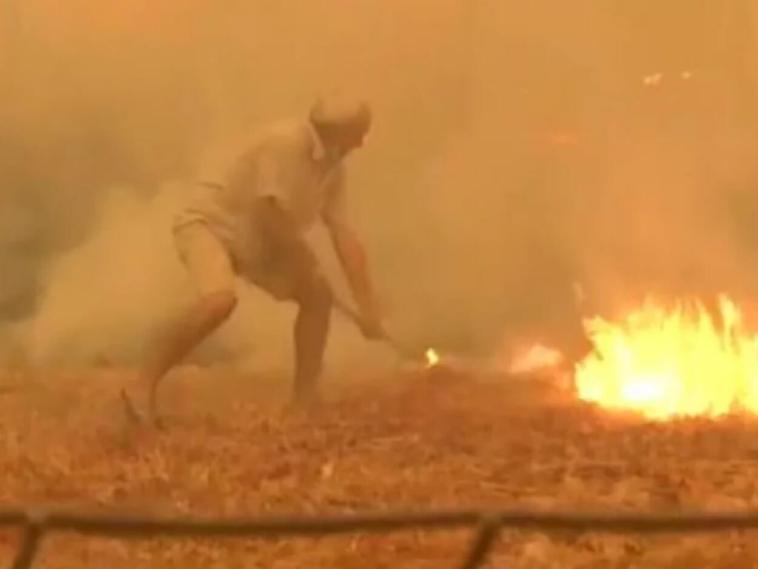 Φωτιά στην Εύβοια κάτοικος