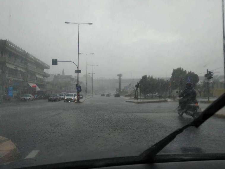ισχυρές βροχές Εύβοια