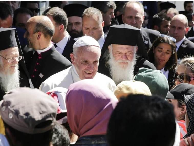 Μυτιλήνη επιστρέφει ο Πάπας Φραγκίσκος
