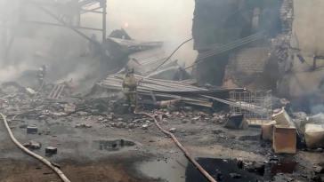 Ρωσία: 17 νεκροί από έκρηξη σε εργοστάσιο χημικών