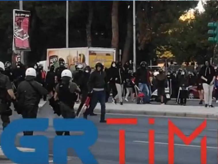 Θεσσαλονίκη αντιφασιστική συγκέντρωση