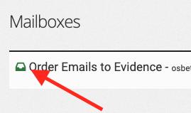 Go into the inbox.