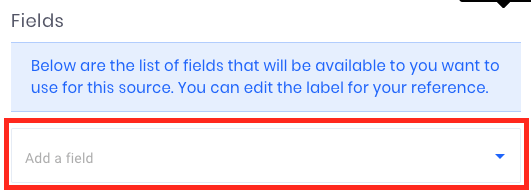Click the dropdown in the source.