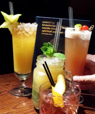 Cocktails unlocking knowledge