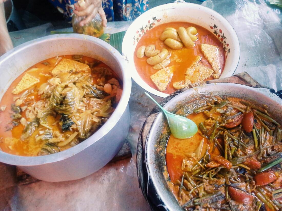 Gulai kapau, gulai tambusu dan pangek ikan