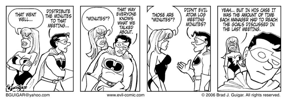 Cap Takes Over Evil Inc