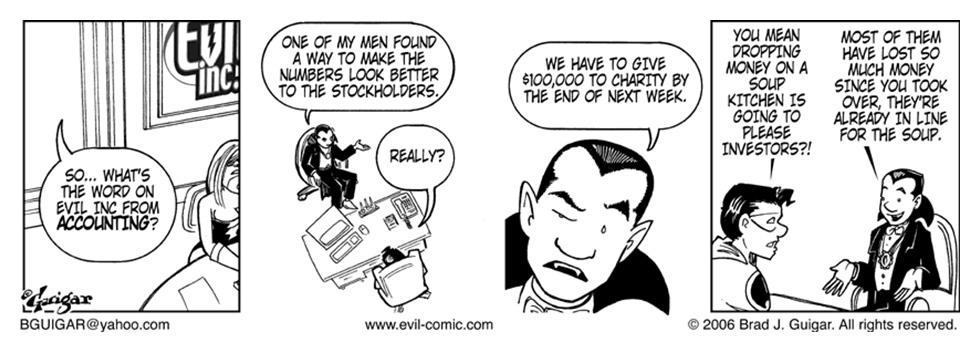 Evil Inc » Evil Accountant