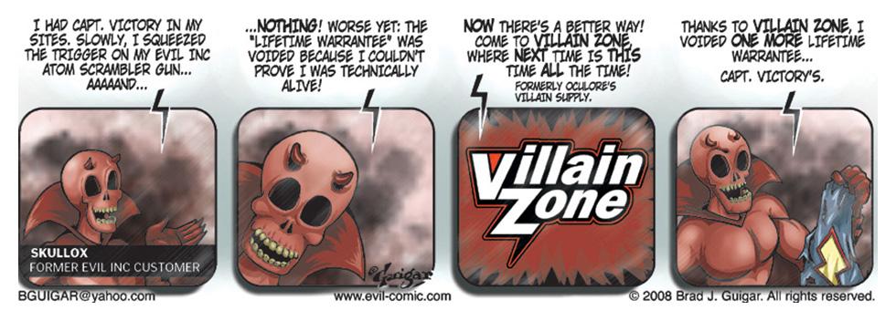 Occulores Villain Zone