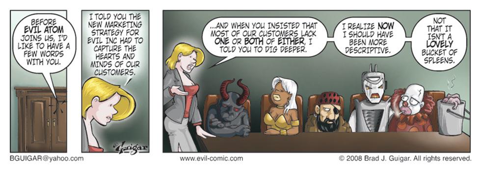 Marketing Evil Inc