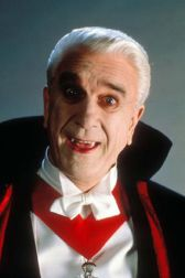 Halloween Movies Leslie Nielson as Dracula
