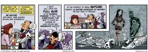 Mature audiences - Evil Inc by Brad Guigar 20140926