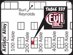 Wizard World Philadelphia 2015 map