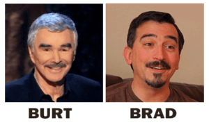 The one on the left is Burt Reynolds