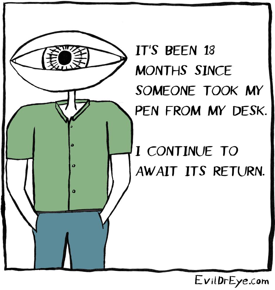 Oh, I'll wait.