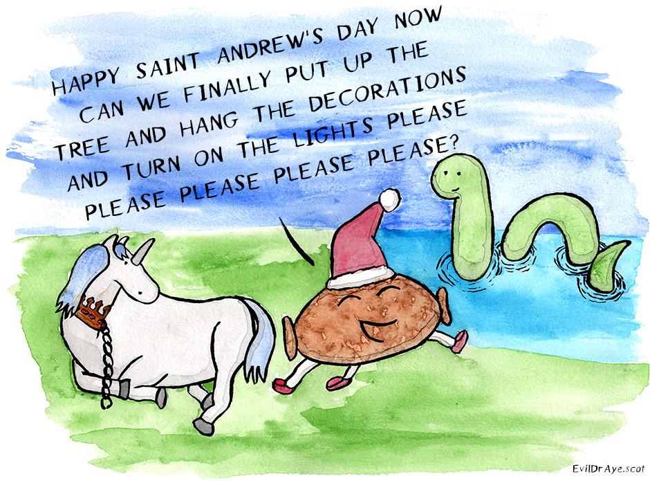 Happy Saint Andrew's Day