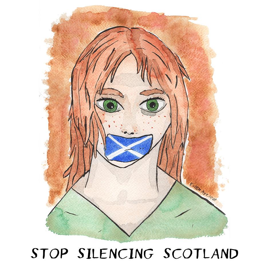 Stop silencing Scotland