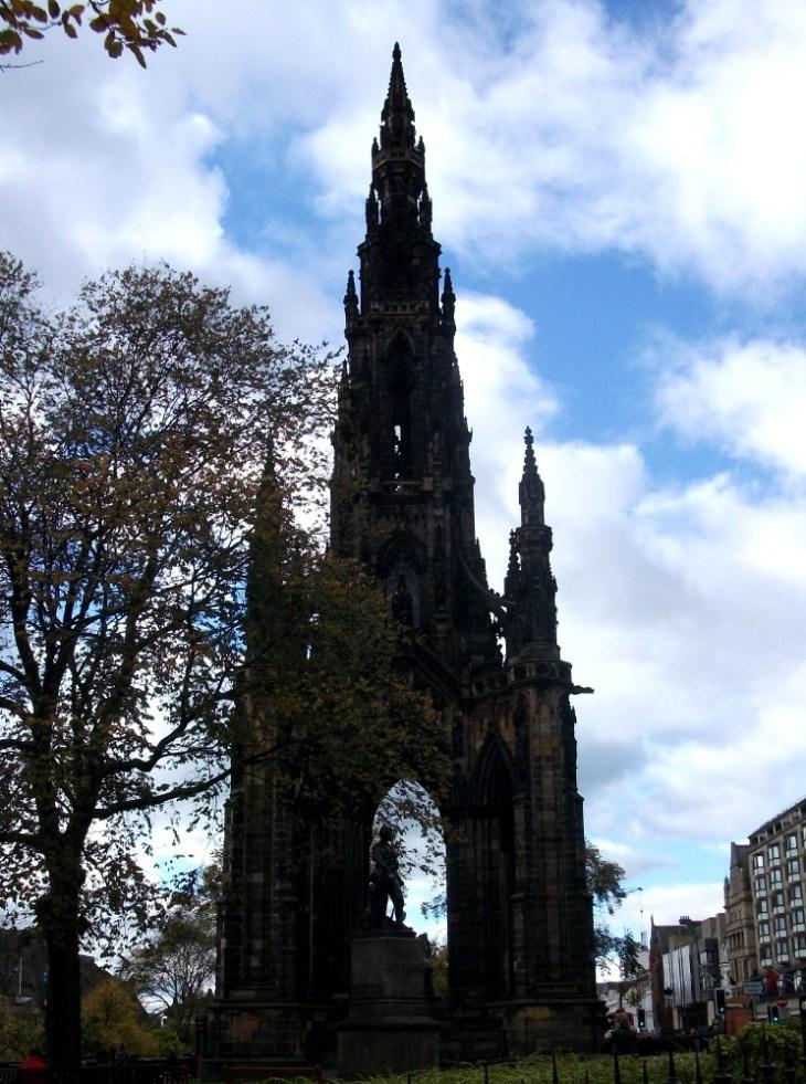 Mon premier voyage, c'était à Edimbourg