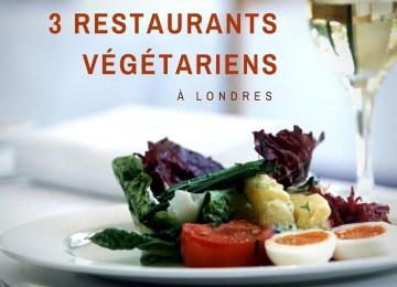 3 restaurants végétariens