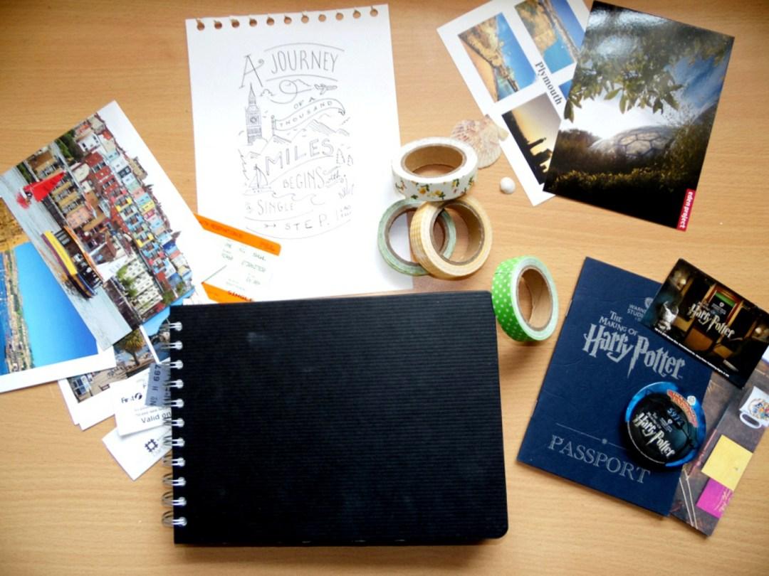 Un carnet de voyage pour les day-trips