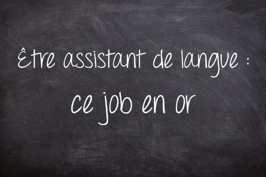 Être assistant de langue