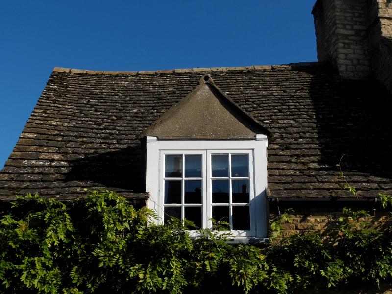 Le petit village d'Easton-on-the-Hill