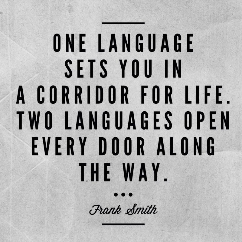 Apprendre à parler une langue