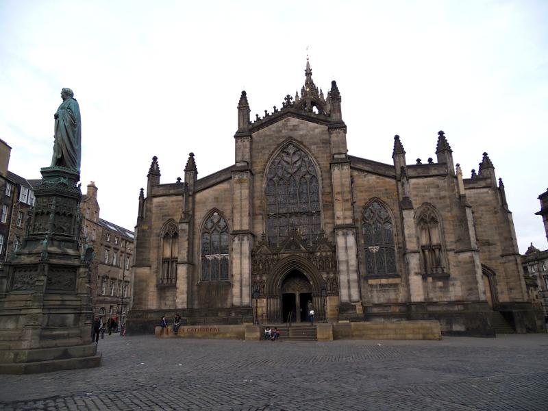 La Cathédrale St Giles à Edimbourg