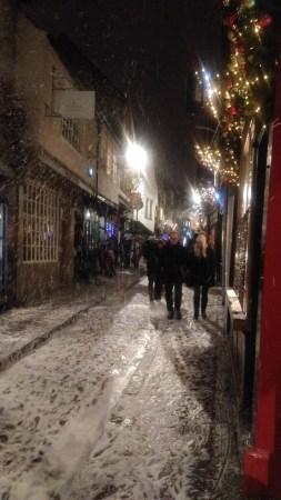 Chroniques anglaises#29 : Il neige !