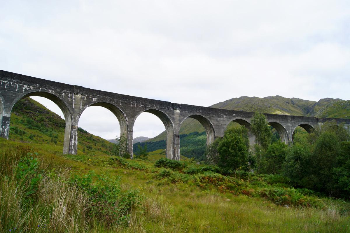 Le viaduc de Glenfinnan