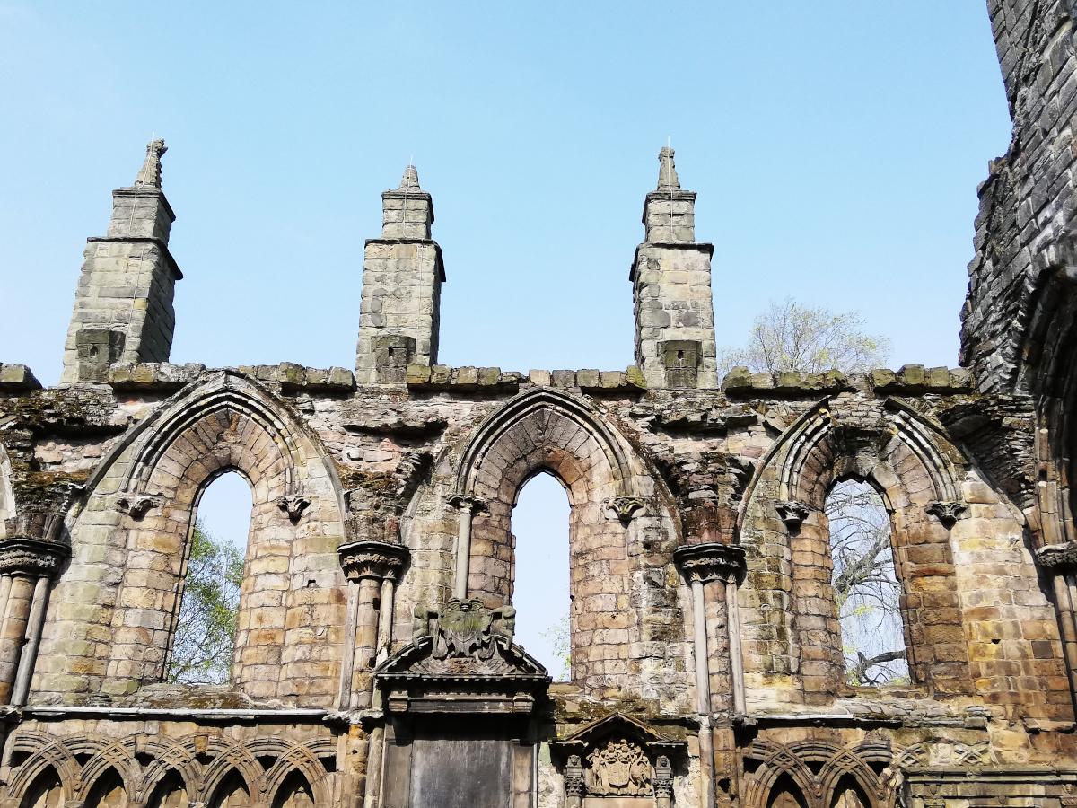L'Abbaye de Holyrood Palace, Edimbourg