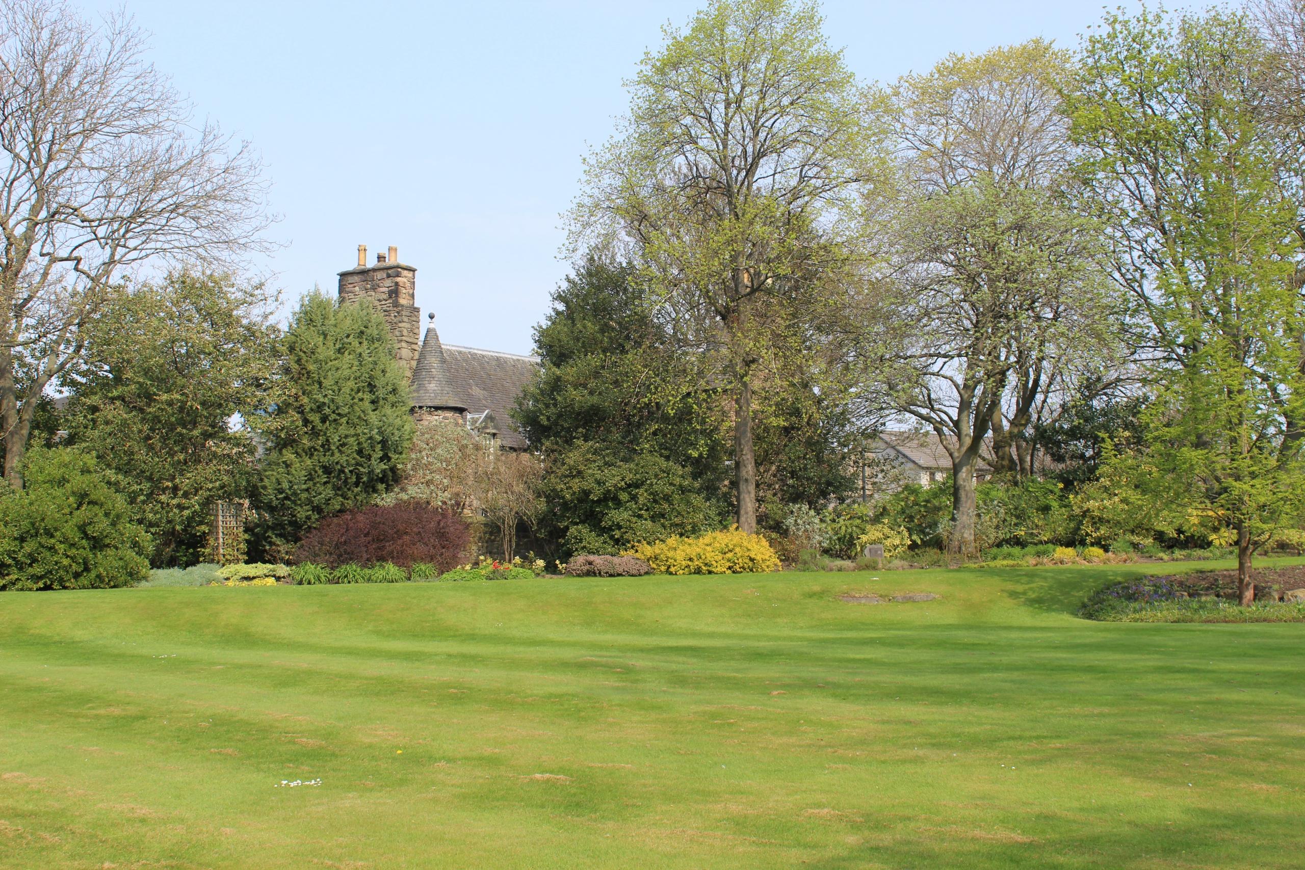 Jardins, Holyrood Palace, Edimbourg