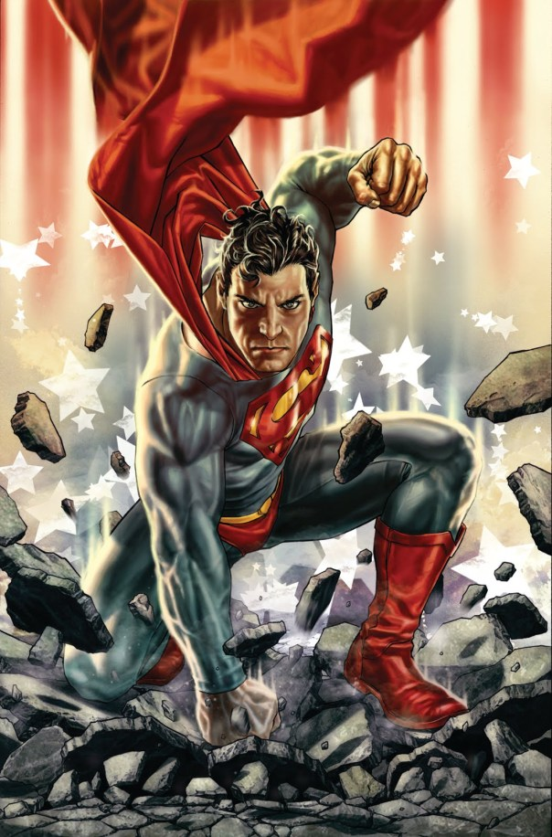The cover of the Pre-New 52 Superman 703