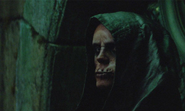 The Silent Brother, with their sewn shut eyes and mouths, were not nearly as scary in the movie as they were in the books