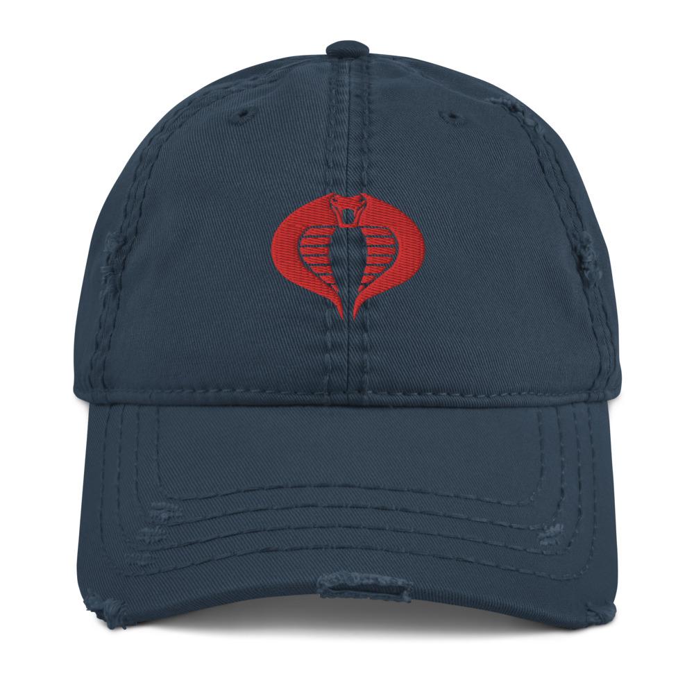 Cobra <br>Distressed Ball Cap