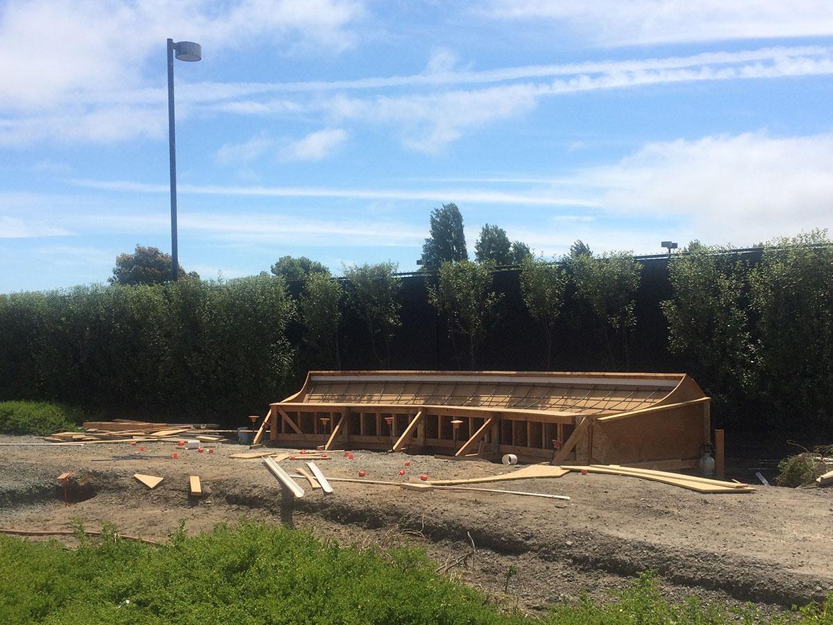 Construction of long awaited Emeryville Skate Park underway