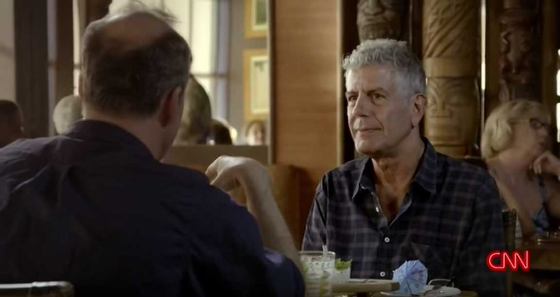 "Anthony Bourdain's Parts Unknown spotlights ""One of the last of its kind"" Trader Vic's"