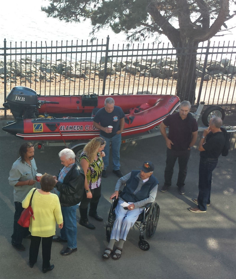 Grand Reopening for Alameda County Fire Station 34 fire