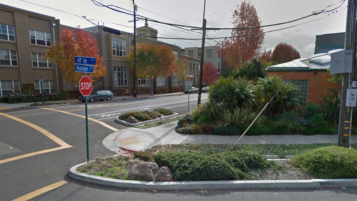 Attempted robbery/shooting of bicyclist in Emeryville's Triangle Neighborhood