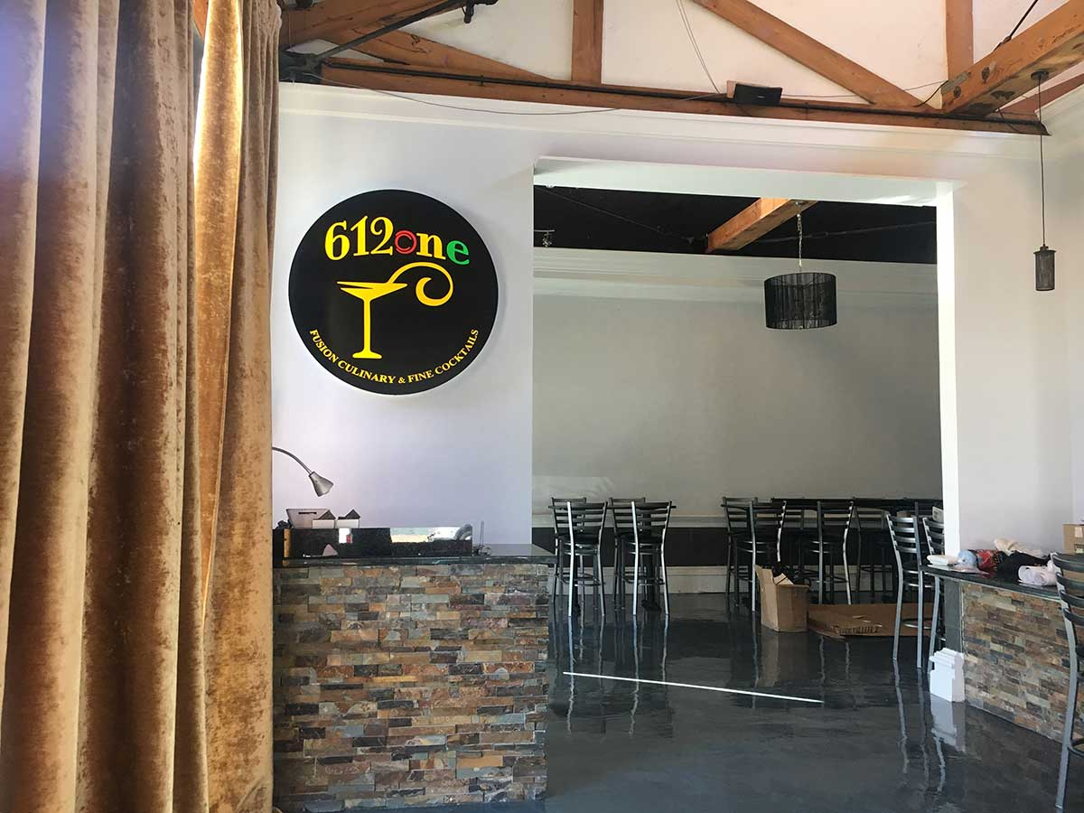 612one Fusion Restaurant Ready To Open Its Doors To