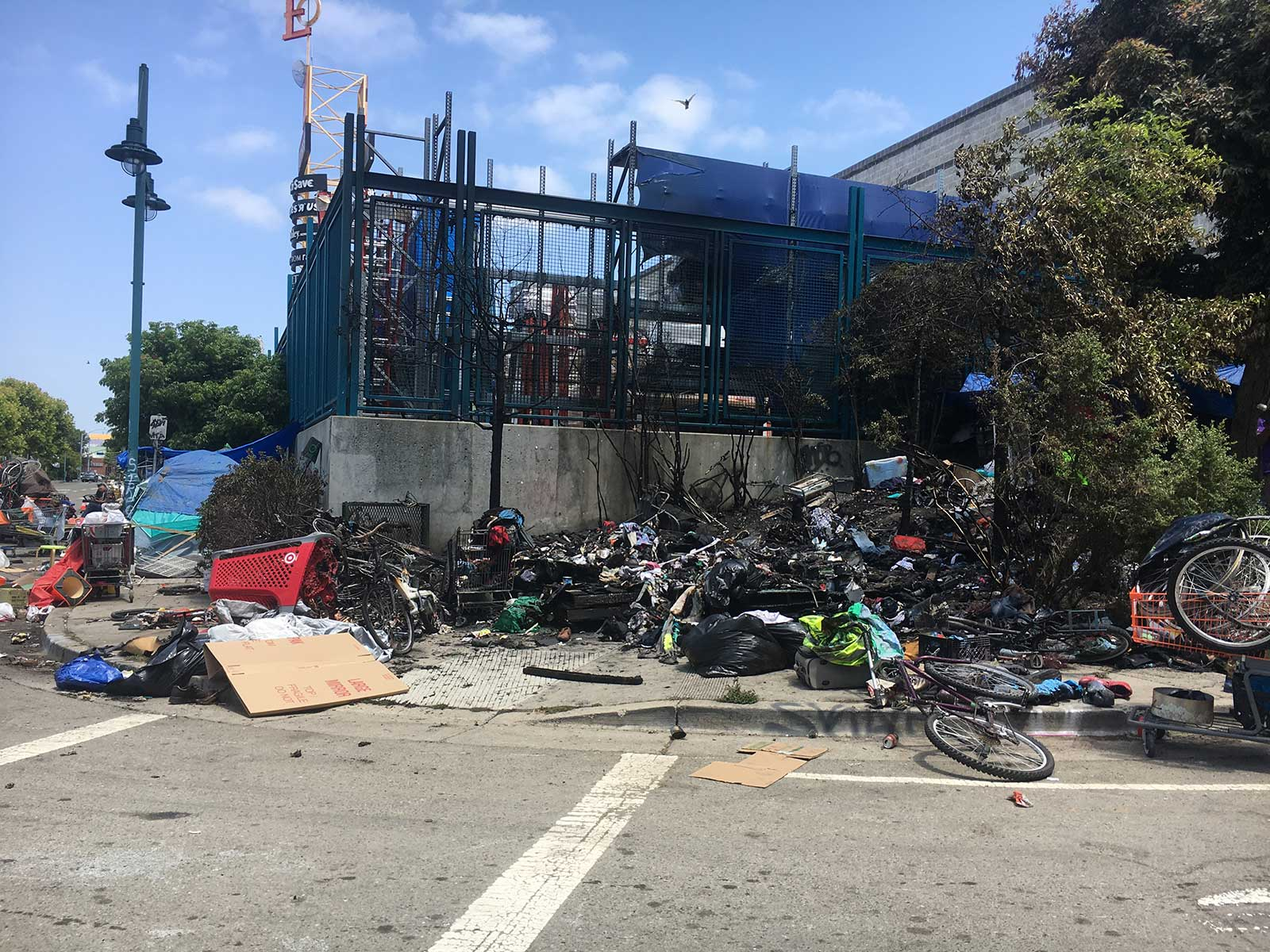 Explosion' at Home Depot Homeless Encampment rattles ... on barn with ramp, trailer with ramp, brick home with ramp,