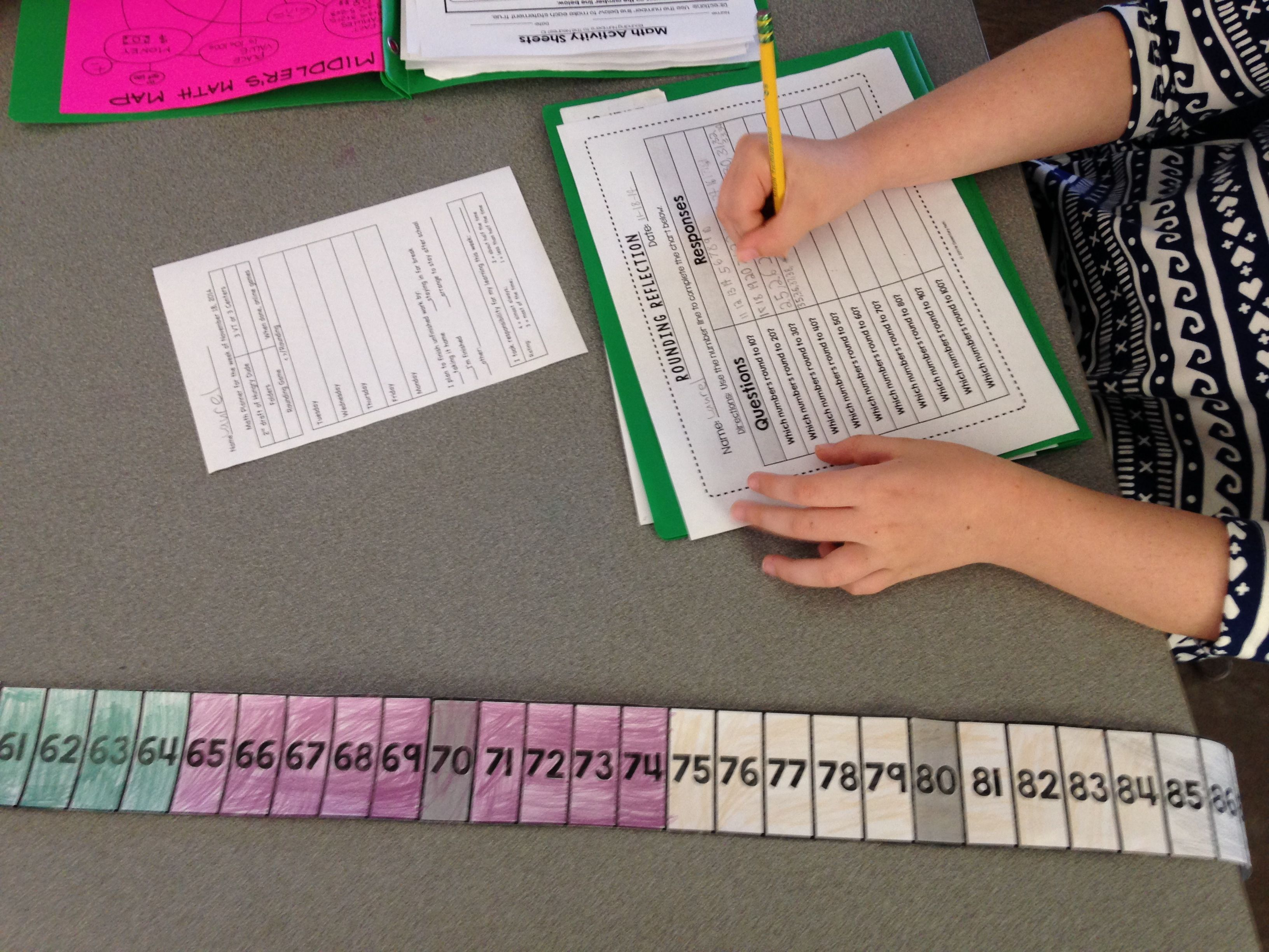Rounding And Number Lines Evil Math Wizard