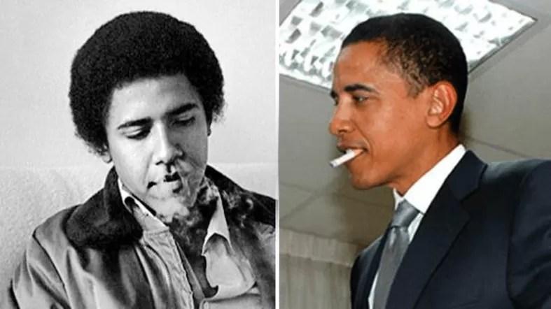 Smoking-Barack-Obama