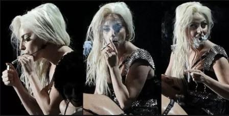Smoking-Ledy-Gaga