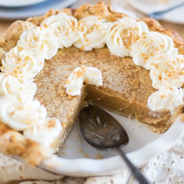 Classic Brown Sugar Pie