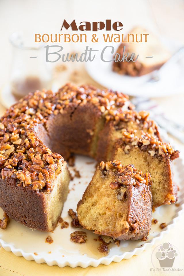 Maple Bourbon Walnut Cake | eviltwin.kitchen