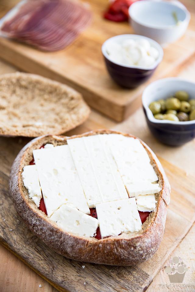 Muffuletta aka Antipasti Sandwich | eviltwin.kitchen