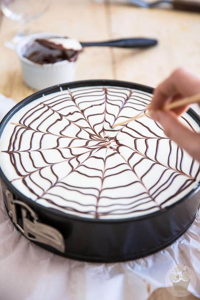 No-Bake Chocolate Kahlua Cheesecake | eviltwin.kitchen