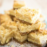 White Chocolate Lemon Cheesecake Bars | eviltwin.kitchen