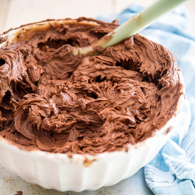 Crazy Good Chocolate Fudge Frosting