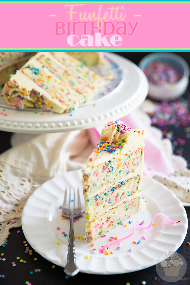Funfetti Birthday Cake | eviltwin.kitchen